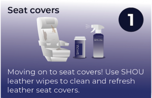 how to clean airplane cabin leather seat covers and seats